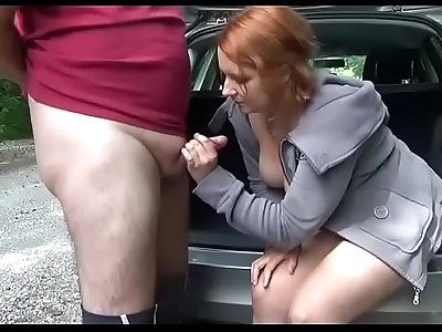 Caught at Public Fuck a Fan which ends in creampie