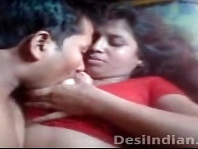 Desi Aunty Boobs Pressed Nipple Sucked