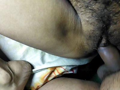 First time hot Desi bhabi ki chudai boyfriend ne ki bhabi ki cekh nikalgae with Hindi audio